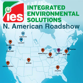 IES Virtual Environment N. American Roadshow with Architectural Seminars and Training Events