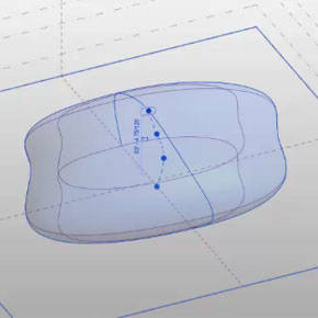 Making a Pebble: Closed Loop Splines and Blobs in Revit (Workaround)
