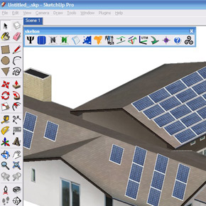 Solar Energy Design Plugin for Google Sketchup