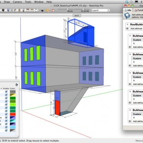 Sketchup to PHPP (Passive House Planning Package)