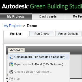 New Release of Green Building Studio