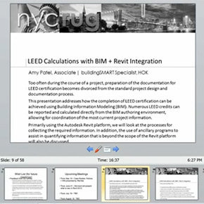 LEED Calculations with BIM