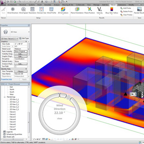Project Falcon - Integrated Wind Tunnel for Revit available on Autodesk Labs