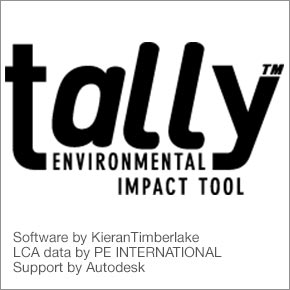 Life-Cycle Assessment for Revit - Tally Now Available as Commercial Application