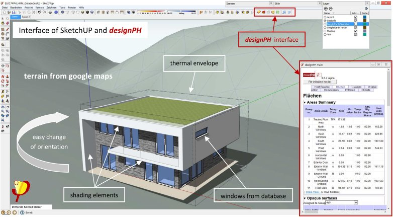 designPH – The 3D Interface for Passive House Design with PHPP ...