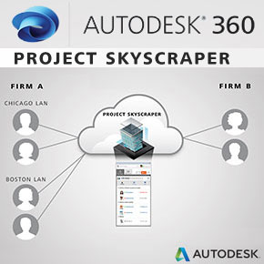 Project Skyscraper: Autodesk 360 Cloud-Based Collaboration for Revit