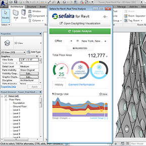 Sefaira Releases Performance Analysis Plug-in for Revit